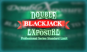 Double Exposure Blackjack Professional Series Standard Limit