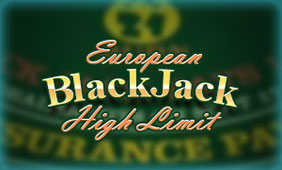 High-Limit-European-Blackjack