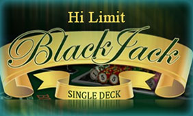 Single Deck Blackjack Hi Limit