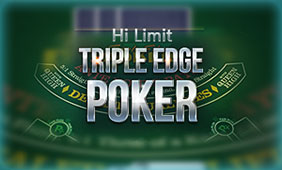 Triple Edge Poker Hi Limit